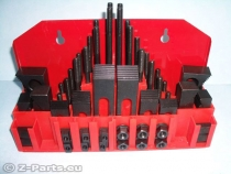 Clamping claw set 58 parts M 8 / 10 mm